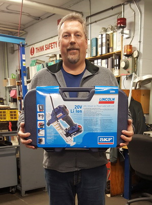 Third draw winner in FLO Components 40th Anniversary Giveaway Contest
