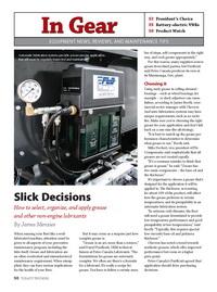 Article: Slick Decisions