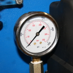 Automatic Greaser Pressure Gauge