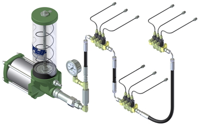 Centro-Matic Industrial Automated Lubrication System