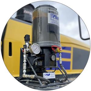 FLOlink Autogreaser Remote Monitoring Pump Package
