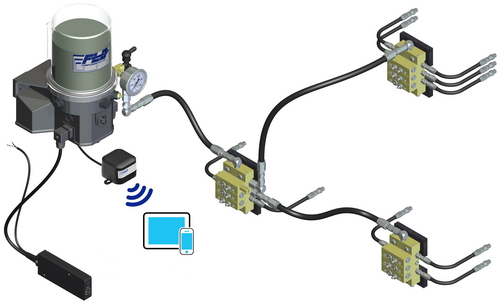 Direct wireless data access to Autolubers