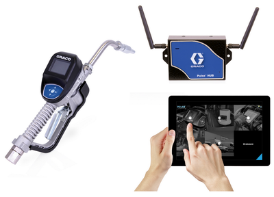 GRACO Pulse® Pro Wireless Bulk Fluid Inventory Control and Management System