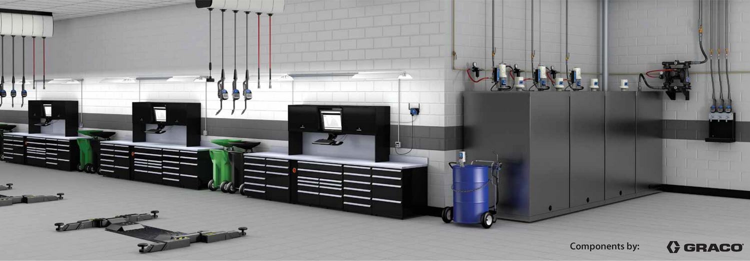 GRACO Pulse® Pro Wireless Bulk Fluid Inventory Control and Management System.