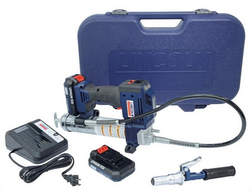 Lincoln 1884 PowerLuber & 5900 PowerLock coupler Prize pack