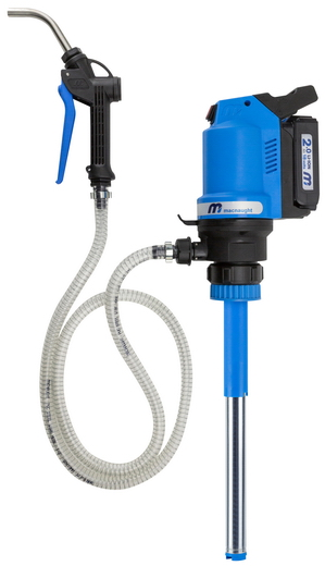 BOP20 - Industry's First 18V Rechargeable Oil Pump