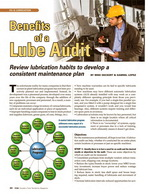 Article: BENEFITS OF A LUBE AUDIT