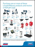 The SKF Lubrication Product Division End-User VISA Gift Card Promotion