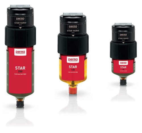 Single Point Automatic Lubricator - Perma Star Vario 250cc, 120cc and 60cc