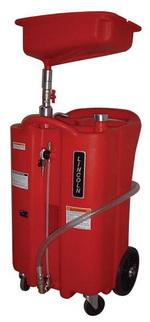 Lincoln 26-Gallon Tank Portable Oil Drain